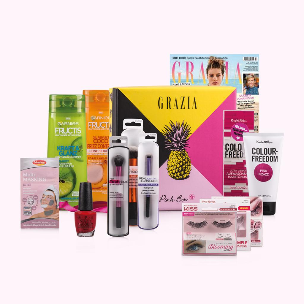 PINK BOX und GRAZIA launchen gemeinsame Sommer-Box